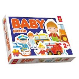 Puzzle Baby Trefl Pojazdy Interwencyjne