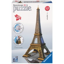 Ravensburger - Puzzle 3D - Wieża Eiffla 216 el. - 12556
