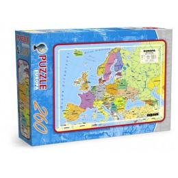Puzzle 260 Mapa Europy