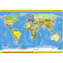 Puzzle 260 Mapa Świata