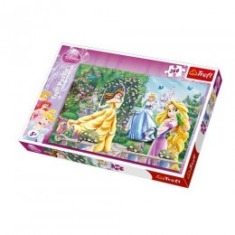 Trefl - Puzzle Disney Princess - Spacer przed balem 260 el. - 13141