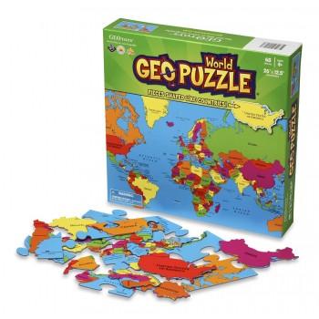 GEOPuzzle Mapa Świata