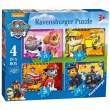 Ravensburger - Puzzle 4w1 - Psi Patrol - 070336