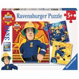 Ravensburger - Puzzle Strażak Sam - 093861