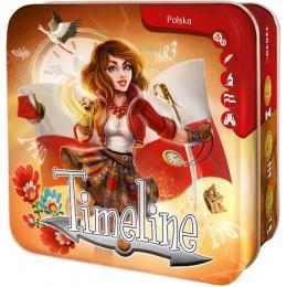 REBEL 42475 Gra karciana - Timelina: Polska