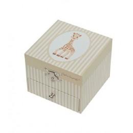 Trousselier S20061 Mała szkatułka z pozytywką - Żyrafa Sophie