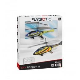 Silverlit – Zdalnie sterowany helikopter Sky Dragon III – Niebiesko-żółty – 84783