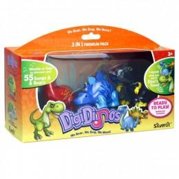 Dumel 88384 DigiDinos Śpiewające Dinozaury Zestaw 3w1