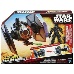 Hasbro HERO MASHERS STAR WARS B3703 The Fighter + Pilot