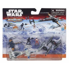 STAR WARS Micro Machines B3497 Zestaw Deluxe Galactic Showdown