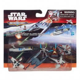STAR WARS Micro Machines B3498 Zestaw Deluxe Galactic Showdown