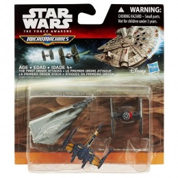 STAR WARS Micro Machines B35015 Trójpak The First Order Attacks
