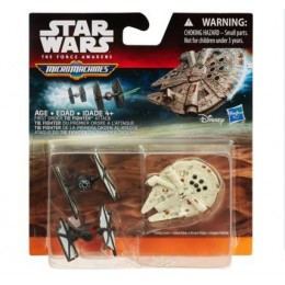 STAR WARS Micro Machines B3503 Trójpak First Order Tie Fighter
