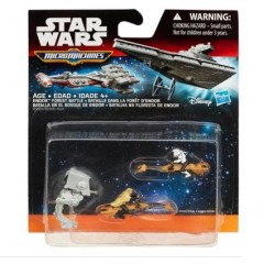 STAR WARS Micro Machines B3505 Trójpak Endor Forest Battle