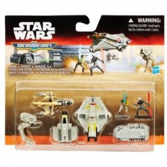 STAR WARS Micro Machines B3824 Zestaw Deluxe Rebellion Rising