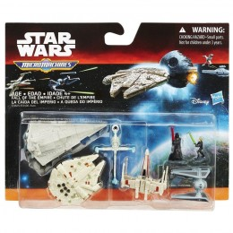 STAR WARS Micro Machines B3825 Zestaw Deluxe Fall Of The Empire