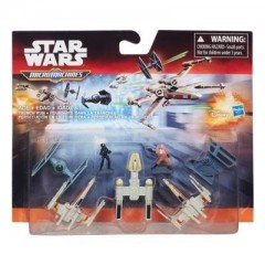STAR WARS Micro Machines B3499 Zestaw Deluxe Trench Run