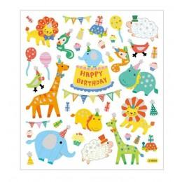 Naklejki urodzinowe zwierzaki – 27183