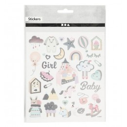 Naklejki Baby Girl – 28884
