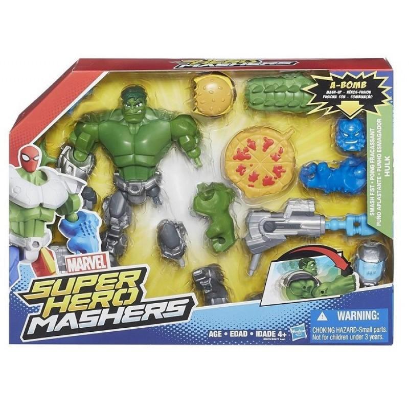 Super hero mashers hulk z akcesoriami b0678 sklep zabawkowy kimland
