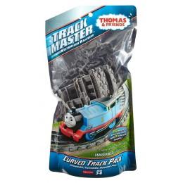 Fisher Price Trackmaster DFM57 Zestaw torów - Łuki i Zakręty