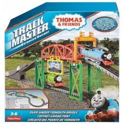 Fisher Price Kolejka Tomek Trackmaster Most w Domkowie DFM61