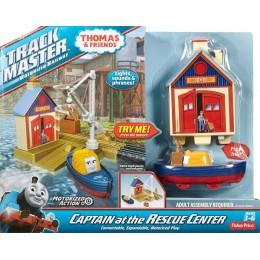 Fisher Price Trackmaster Centrum Ratownicze Kapitana DFM66