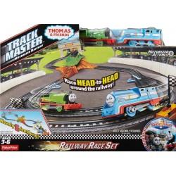 Fisher Price DFM53 Kolejka Tomek Trackmaster  - Tor wyścigowy