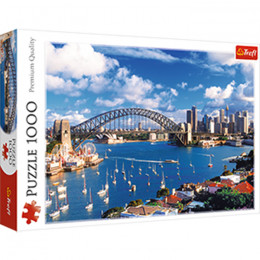 Trefl - 10206 - Port Jackson - Puzzle 1000 elementów
