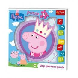 TREFL 36116 PUZZLE Świnka Peppa - Moje pierwsze puzzle 6 el.