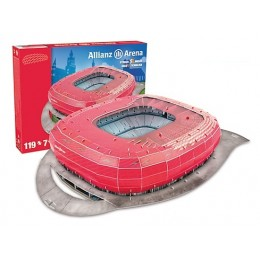 Trefl Puzzle 3D Stadion Allianz Arena Monachium