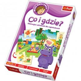 Trefl 01127 Puzzle Co i gdzie? - Układanka Edukacyjna