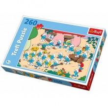 Trefl 13128 Puzzle Smerfy 260 el.