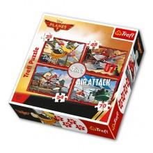 Trefl 34230  Puzzle Planes 2 Samoloty 4w1 4 obrazki