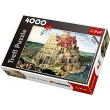 Trefl 45001 Puzzle Wieża Babel Bruegel 4000 el.