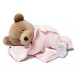 Prince Lionheart 0015B Tummy Sleep - Miś różowy