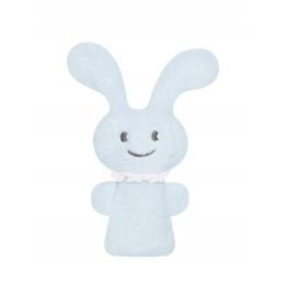 Trousselier V102902 Pluszowy króliczek - grzechotka - Niebieski