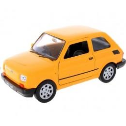 Welly - Maluch Fiat 126 Pomarańczowy - Model 1:34