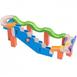 Wonderworld Toys - Trix Track - Kulodrom Up Stairs Track - 7009