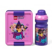 LEGO – Zestaw śniadaniowy Friends – pojemnik + bidon – 4058