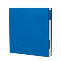 Notatnik LEGO z długopisem – niebieski – 52257