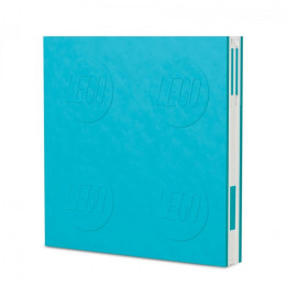Notatnik LEGO z długopisem – błękitny – 52444