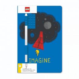 Notatnik LEGO – Imagine niebieski – 52523