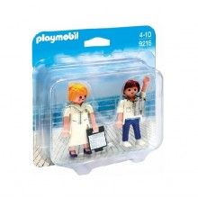 Playmobil Duo Pack 9216 Figurki - Stewardesa i oficer